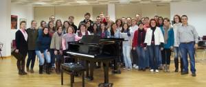 Coro de la Universidad de Extremadura 2012